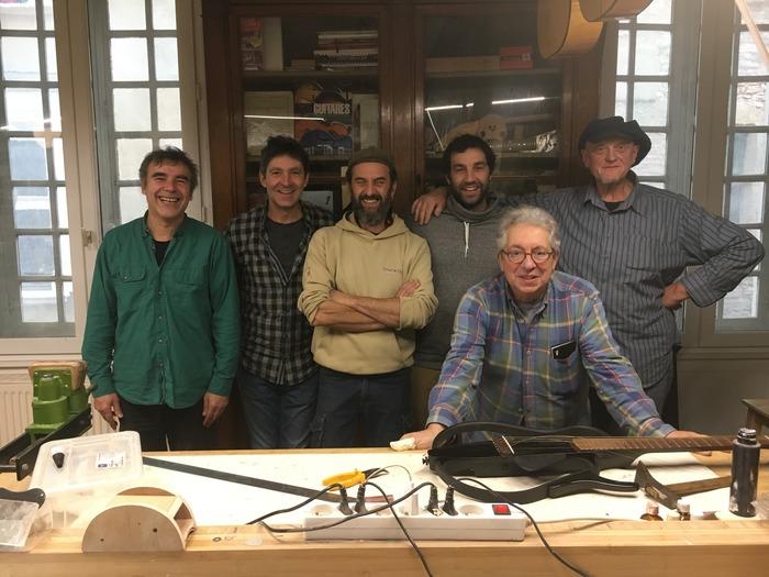 Journées du patrimoine 2018 - Centre d'enseignement sur la facture instrumentale : une équipe de stagiaires