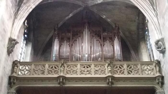 Journées du patrimoine 2018 - une exposition commentée sur le grand orgue Puget de la basilique Saint-Pierre d'Avignon