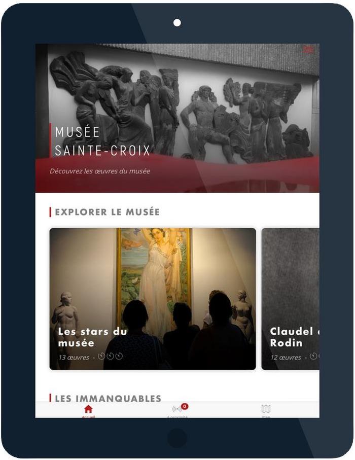 Journées du patrimoine 2018 - Une nouvelle application de visite du Musée
