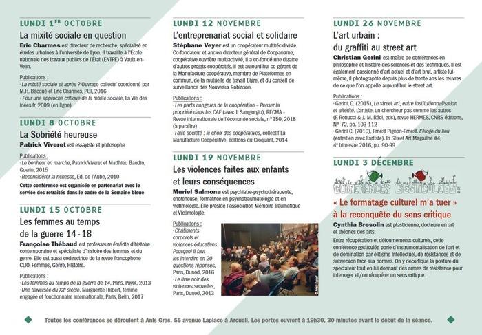 Université Populaire d'Arcueil : L'entreprenariat social et solidaire