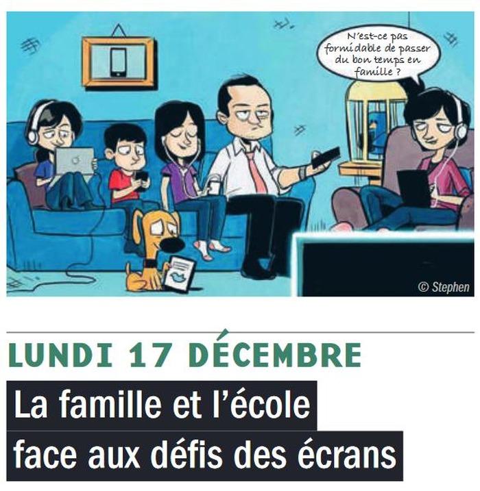 Université Populaire d'Arcueil : La famille et l'école face aux défis des écrans