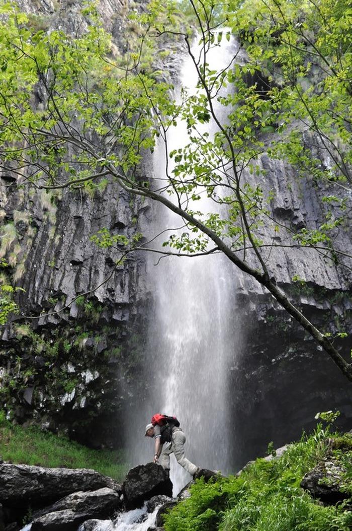 Journées du patrimoine 2018 - Vagabondages Volcaniques à la cascade de Faillitoux.