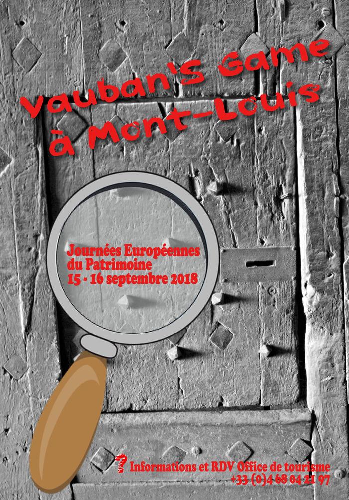 Journées du patrimoine 2018 - Vauban's Game