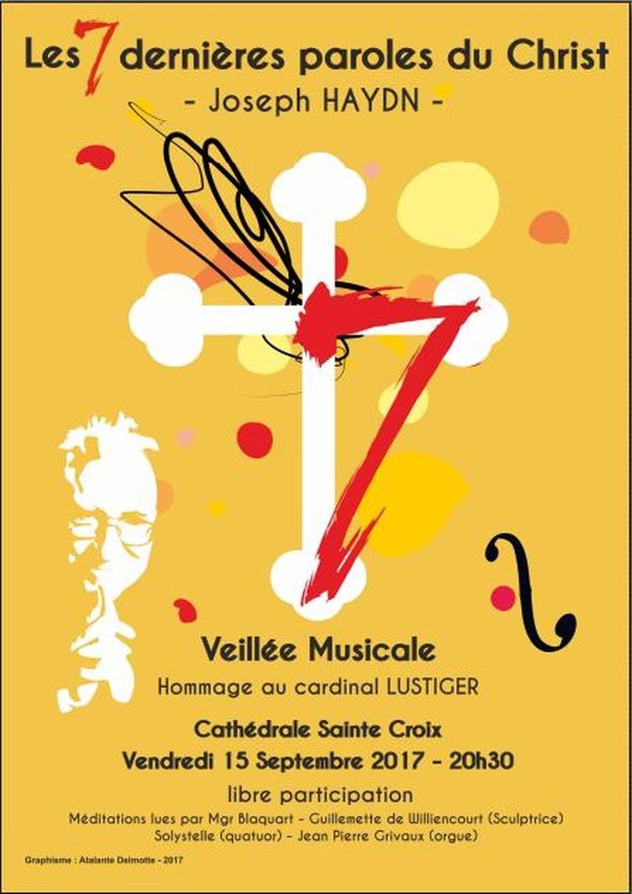 Journées du patrimoine 2017 - Veillé Musicale : « Les 7 dernières paroles du Christ » de Joseph Haydn