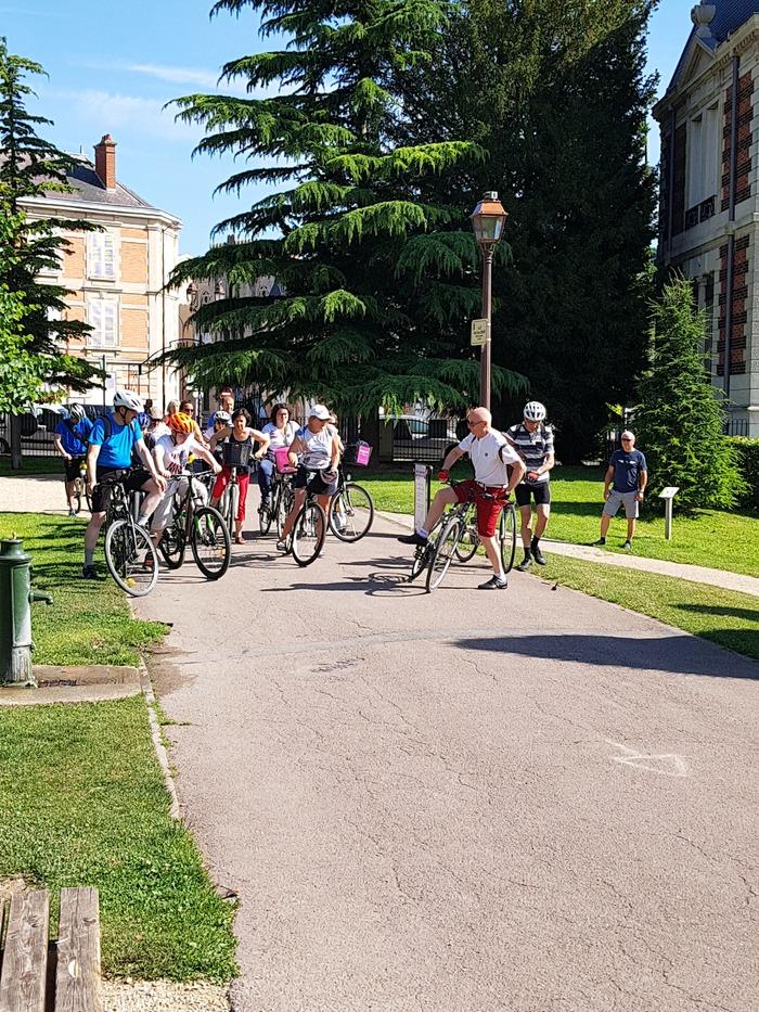 Journées du patrimoine 2018 - Vélo visite : les remparts de Châlons