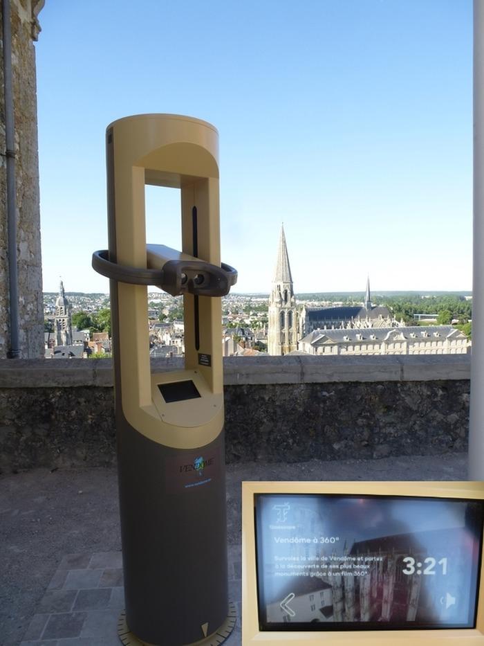 Journées du patrimoine 2018 - « Vendôme à 360° » Nouveauté implantée dans le parc !
