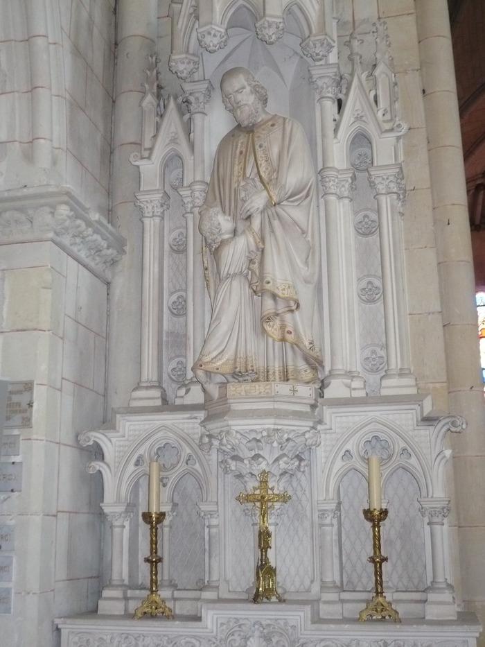 Journées du patrimoine 2018 - Venez découvrir l'Eglise Saint-Aubin