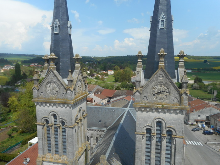 Journées du patrimoine 2018 - Venez visiter une église du XIXème siècle à deux clochers !