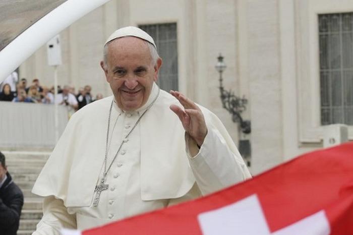 Venue du Pape François à Genève