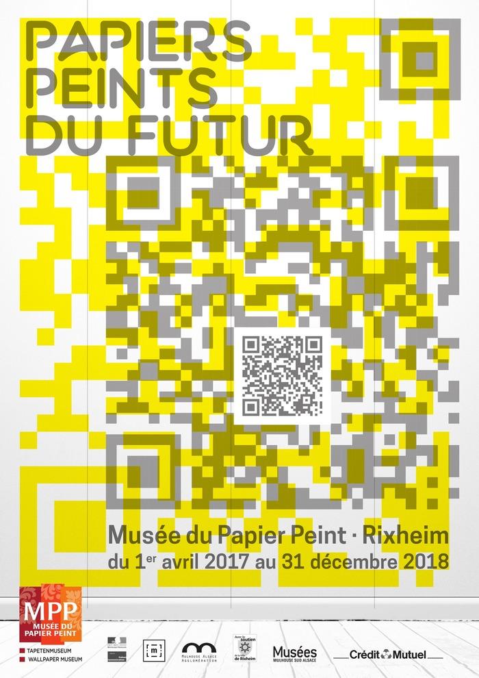 Vernissage de l 39 exposition papier peint du futur 18 h 30 - Installer du papier peint ...