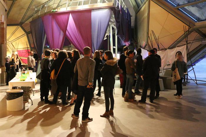 Vernissage des expositions au Frac Centre-Val de Loire