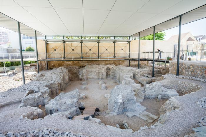 Crédits image : Vestiges archéologiques de l'abbaye Notre-Dame, copyright Ville d'Argenteuil