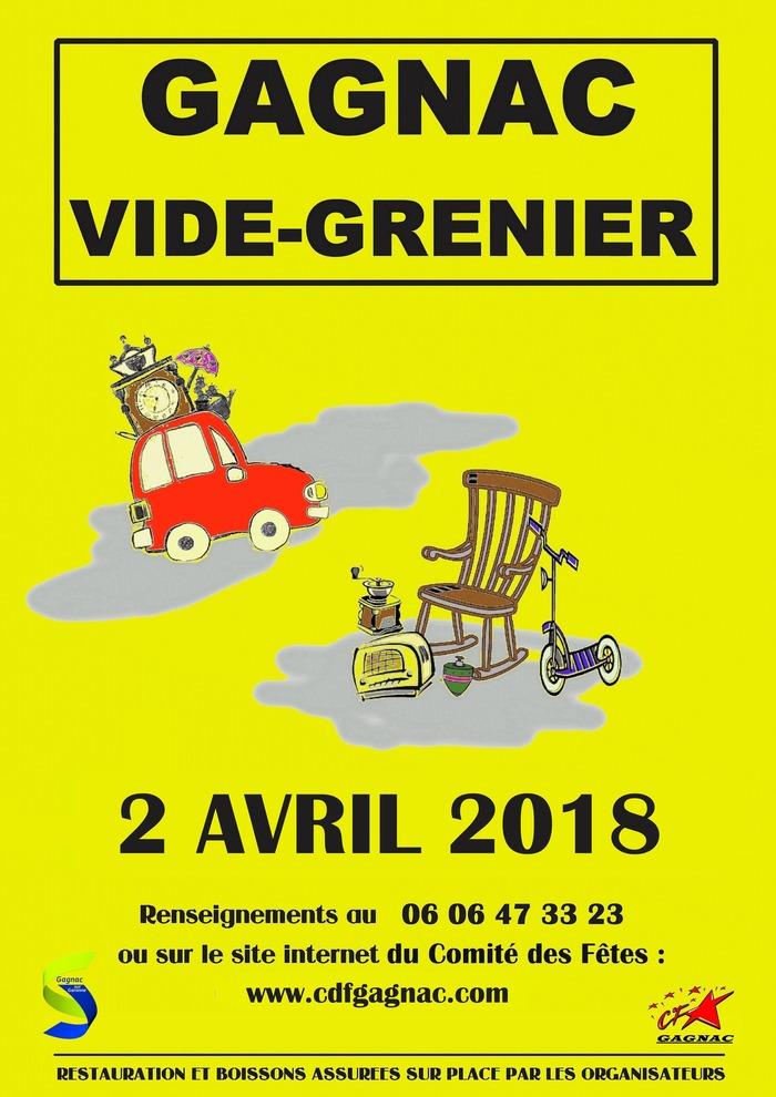 Vide grenier à Gagnac-sur-Garonne - Lundi 2 Avril