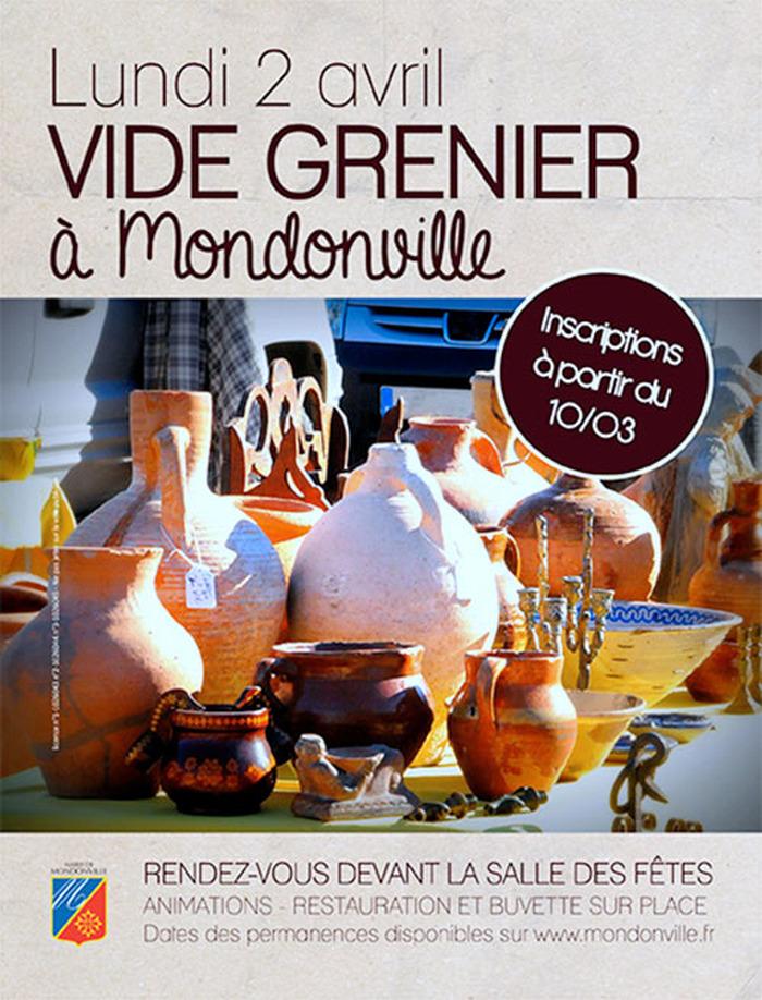 Vide-grenier de Mondonville - Lundi 2 avril