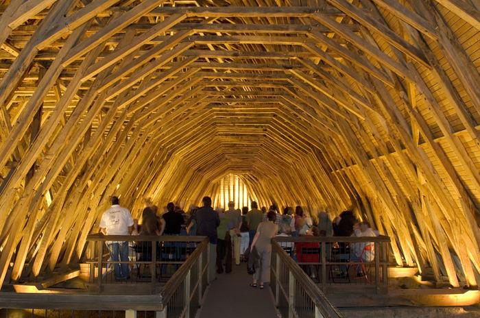 Journées du patrimoine 2018 - Visite guidée de la charpente de l'église Saint Girons