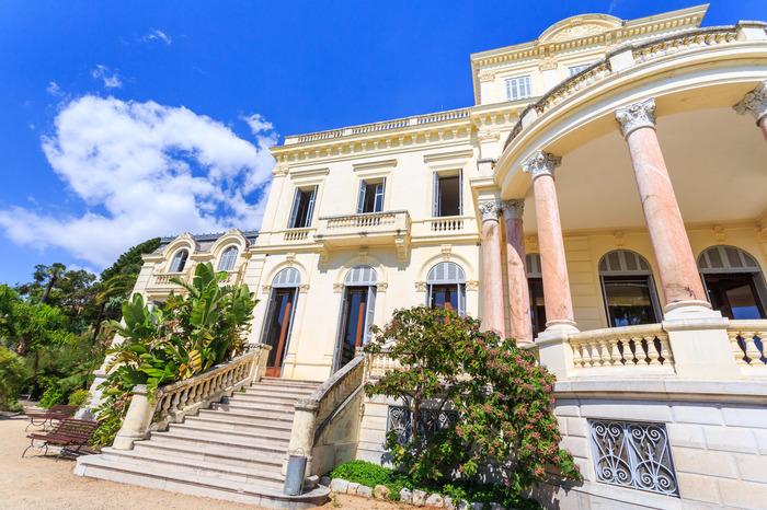 Journées du patrimoine 2018 - Villa Rothschild / Médiatheque Noailles