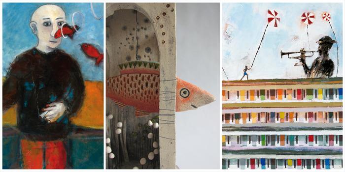 Journées du patrimoine 2018 - Village d'artistes - Univers en couleurs - exposition