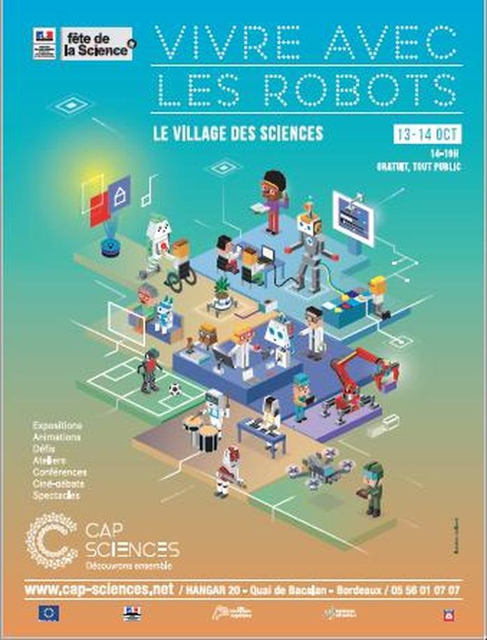 Village des sciences 2018 Vivre avec les robots
