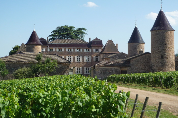 Journées du patrimoine 2018 - Château de Chasselas, joyaux viticole de la Bourgogne du Sud