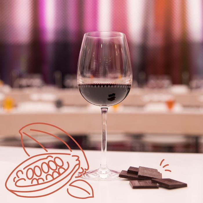 Vins et chocolats du monde