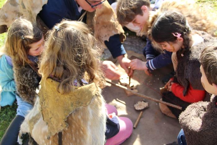 Journées du patrimoine 2018 - Vis ma vie de néandertalien