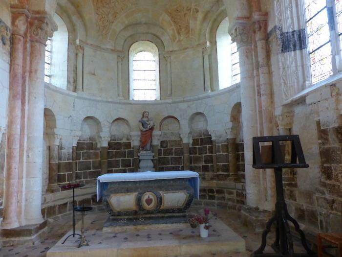 Journées du patrimoine 2018 - Visite guidée de l'église Notre-Dame d'Autheuil