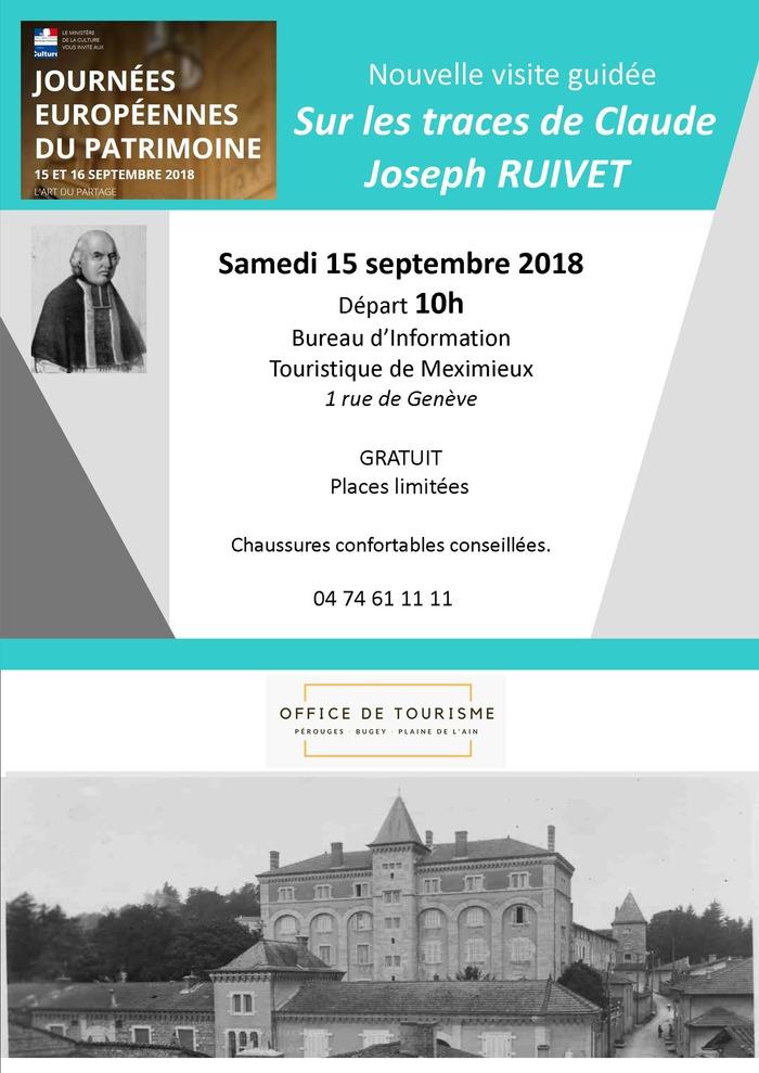 Journées du patrimoine 2018 - Visite commentée «Patrimoine du XIX siècle, sur les traces d'un homme de partage».