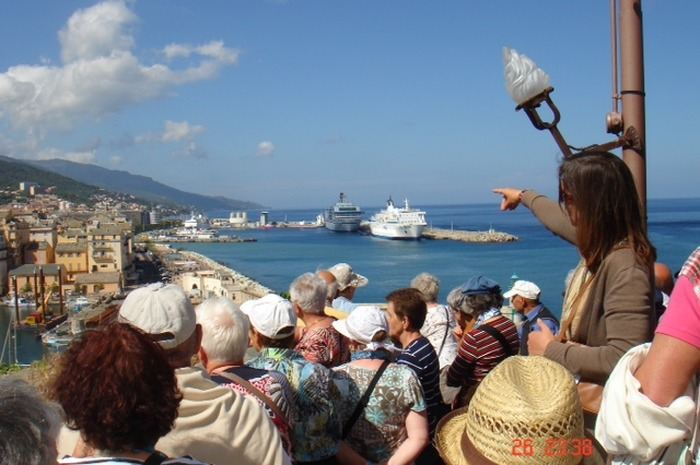 Journées du patrimoine 2017 - Visiste guidée de Bastia en langue corse