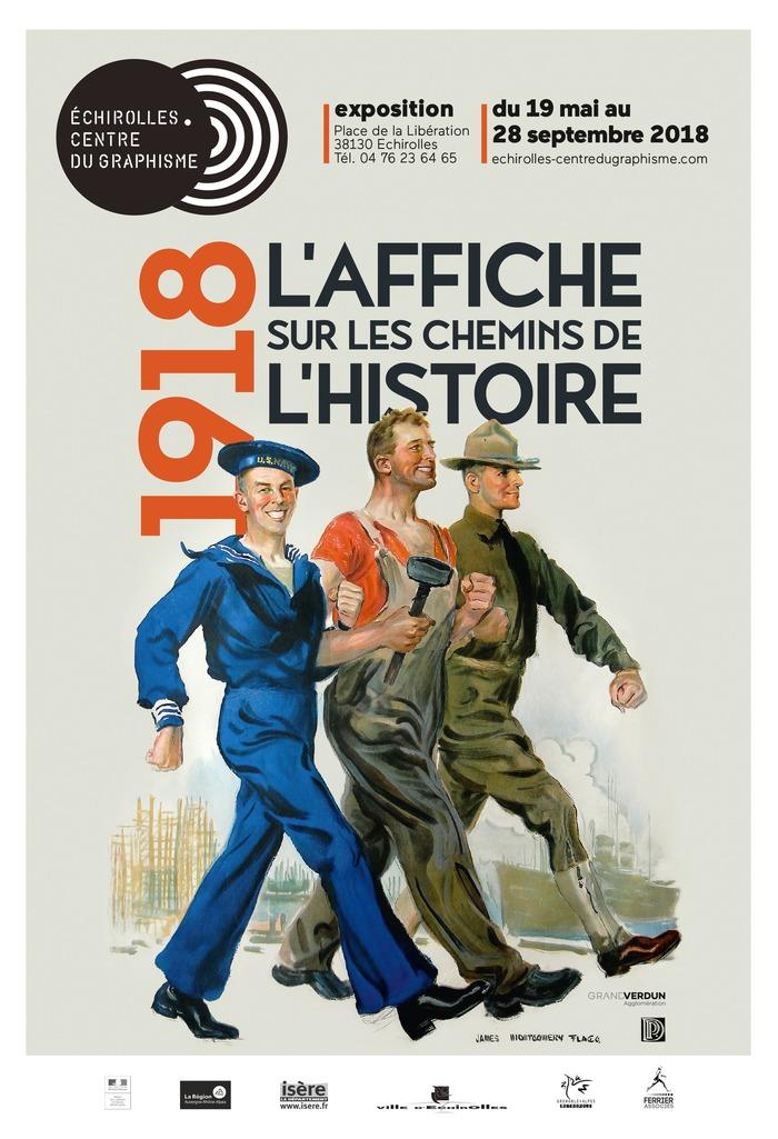 Journées du patrimoine 2018 - Exposition «1918, l'affiche sur les chemins de l'histoire».
