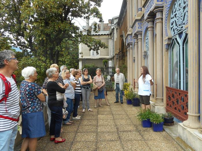 Journées du patrimoine 2018 - Visite commentée de la Casamaures.