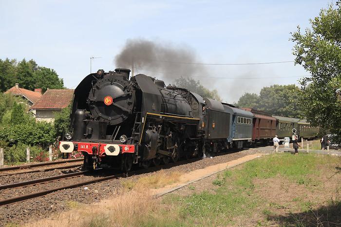 Journées du patrimoine 2018 - Visite à bord de la locomotive à vapeur 141.R.840