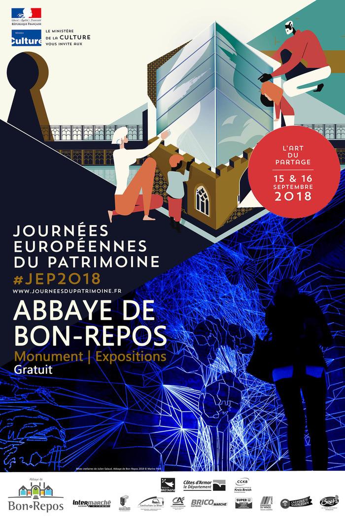 Journées du patrimoine 2018 - Visite Abbaye de Bon-Repos