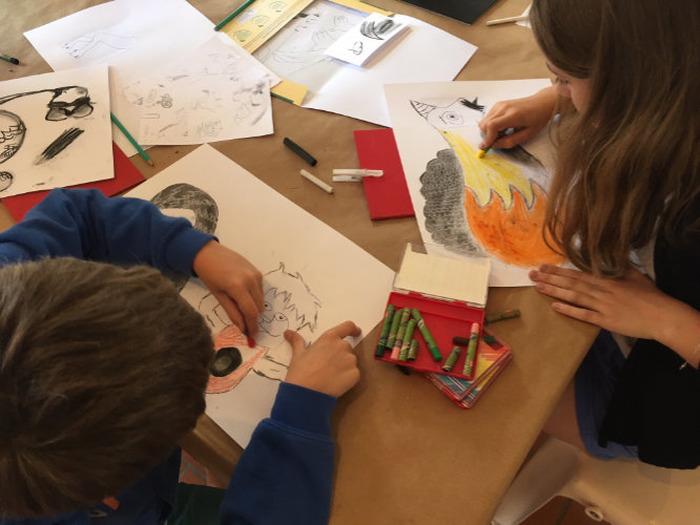 Visite-atelier 7/11 ans : La fabrique des monstres