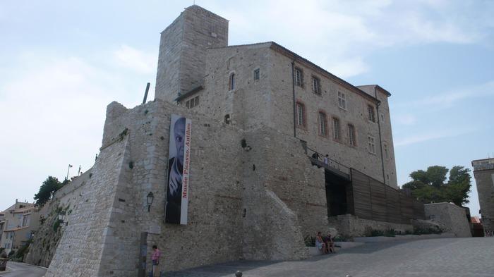 Crédits image : Vue extérieure du Musée Picasso. Photo © JLA