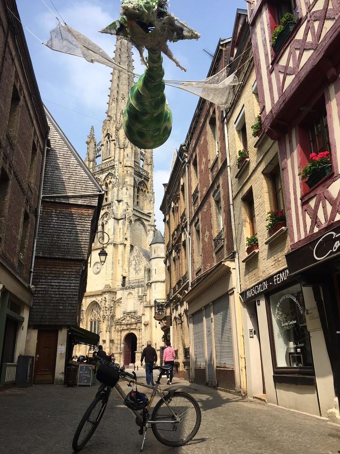 Journées du patrimoine 2018 - Circuit-découverte du patrimoine d'Harfleur, à vélo