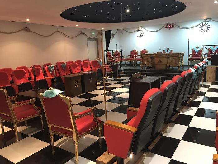 Journées du patrimoine 2018 - Visite commentée d'un temple maçonnique