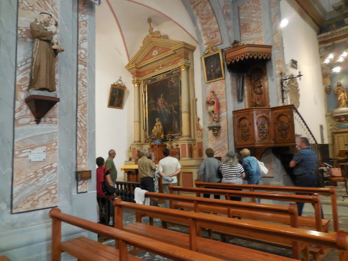 Journées du patrimoine 2018 - Visite commentée de l'église d'Argentine.
