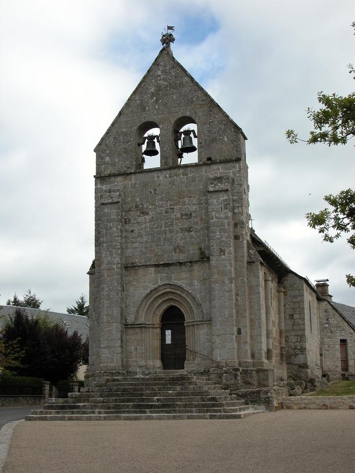 Crédits image : église de Champagnac-la-Noaille ©