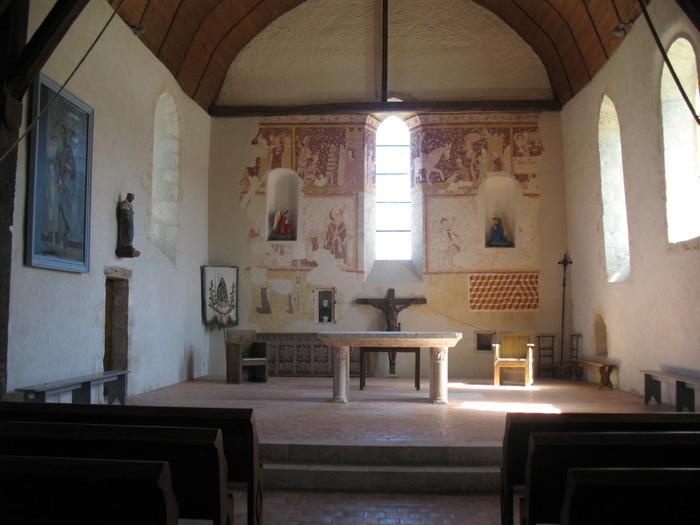 Journées du patrimoine 2018 - Visite commentée de l'église et de la restauration des peintures murales