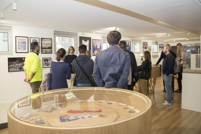 Journées du patrimoine 2018 - Visite commentée de l'Espace muséal de la Fédération Française de BasketBall