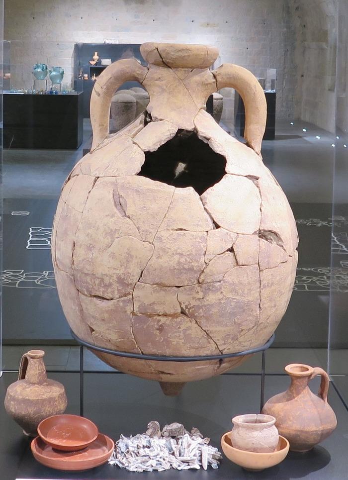 Journées du patrimoine 2018 - Visite commentée de l'exposition archéologique