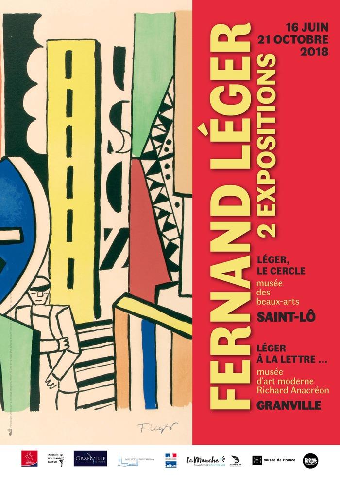 Journées du patrimoine 2018 - Visite guidée de l'exposition Léger à la lettre...