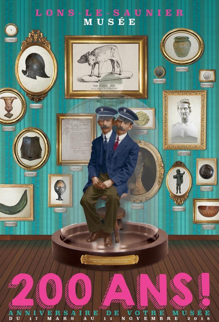 Journées du patrimoine 2018 - Visite commentée de l'exposition temporaire 200 ans ! Anniversaire de votre musée