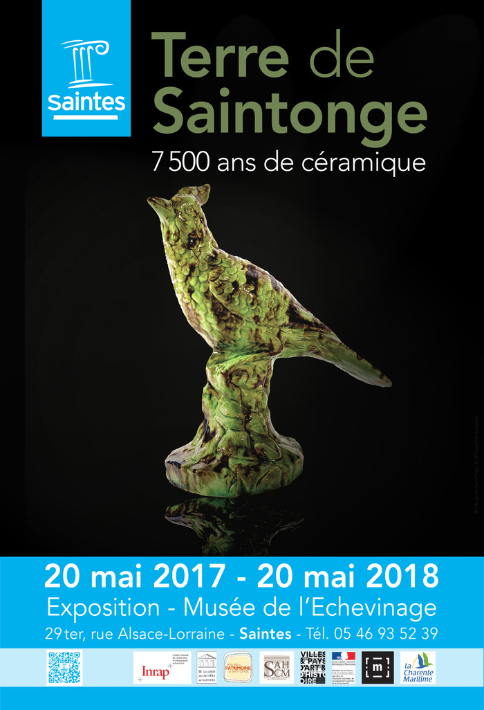 Journées du patrimoine 2017 - Terre de Saintonge. 7500 ans de céramique