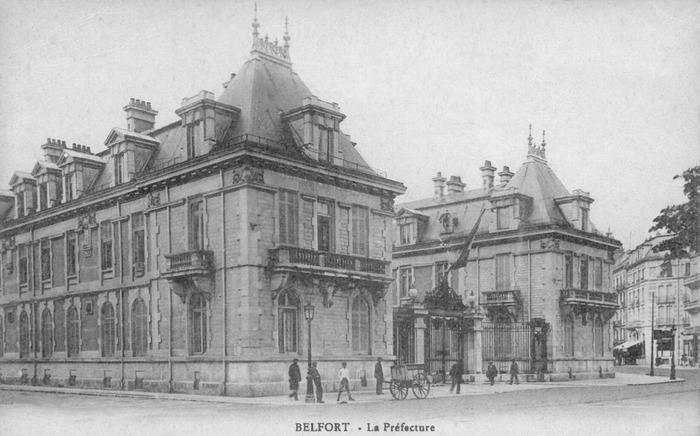 Journées du patrimoine 2018 - Visite commentée de l'Hôtel de la Préfecture du territoire de Belfort