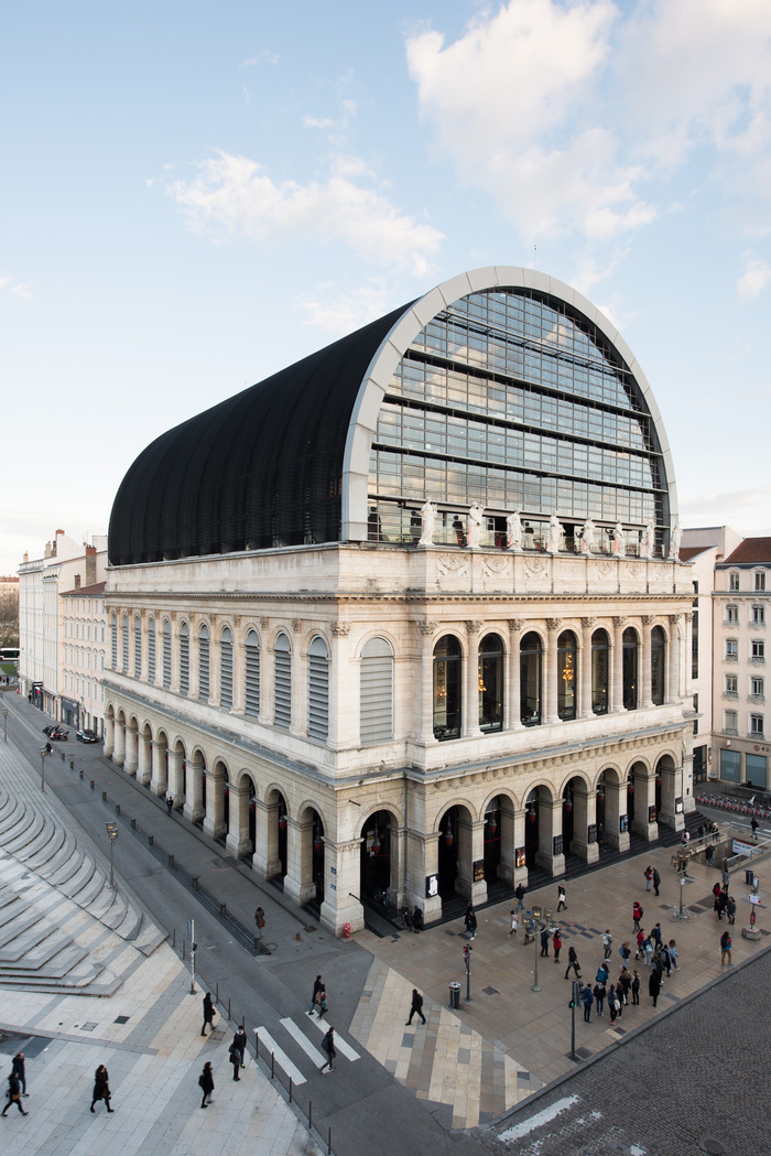 Journées du patrimoine 2018 - Visite commentée de l'opéra de Lyon.