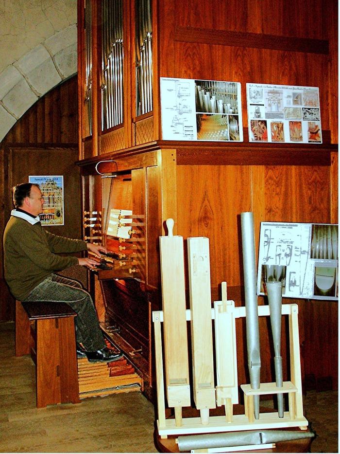 Journées du patrimoine 2018 - Découverte de l'orgue de l'église Saint-Germain