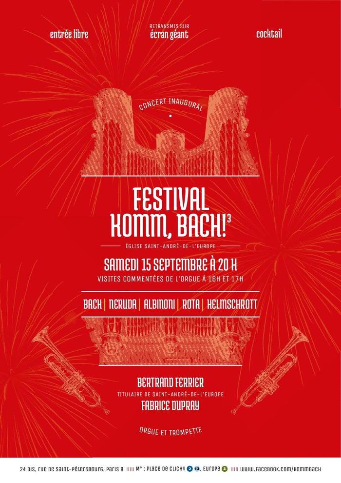 Journées du patrimoine 2018 - Visite commentée de l'orgue de Saint-André de l'Europe