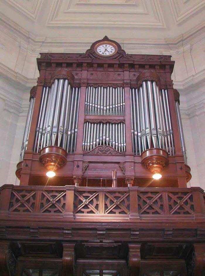 Journées du patrimoine 2018 - Visite commentée de l'orgue et des harmoniums du temple protestant du Saint Esprit