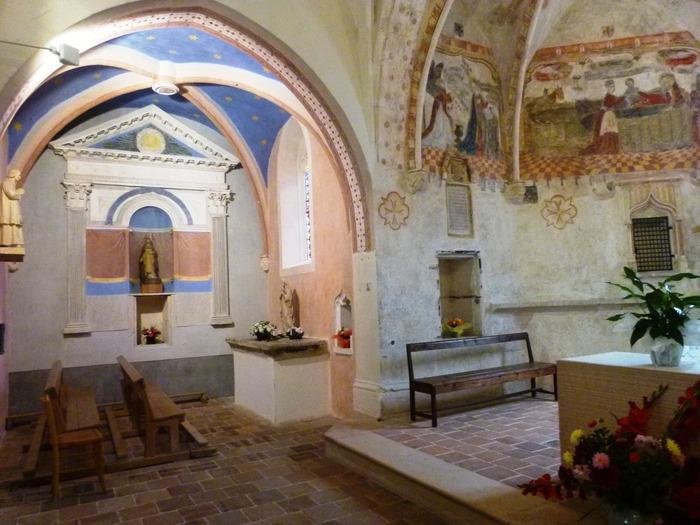 Journées du patrimoine 2018 - Visite commentée de la chapelle.